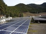 太陽光発電所の草刈り作業