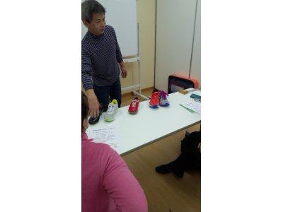 体験&実践!足から始まる健康講座