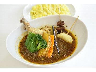 チキン野菜スープカレー