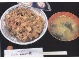かき揚げ丼  Kakiagedon