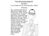 The Stravinsky Martini