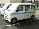 松戸市役所の車両に弊社の広告を掲載