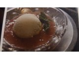 苺とバニラの冷たいスープ