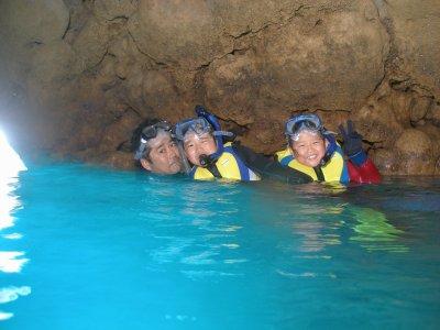 今度は「青の洞窟」