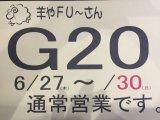 G20期間