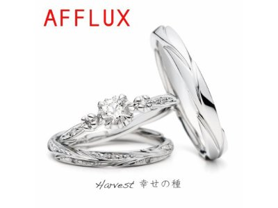 ゆびわ言葉:幸せの種 Harvest(ハーベスト)婚約指輪