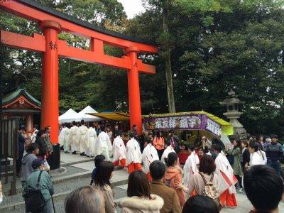 京都伏見稲荷・火焚祭