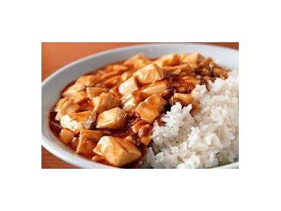 真っ赤な情熱のマーボー豆腐丼
