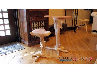 ハートのテーブル
