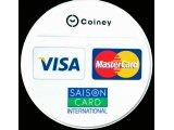 Coineyクレジットカード決済導入